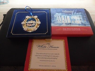 2004 White House Historical Association Christmas Ornament Honoring Hayes