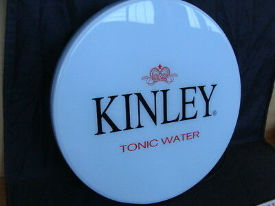 Insegna luminosa Kinley Tonic water gruppo Coca Cola vintage sign