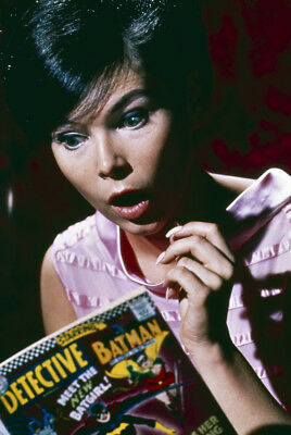 Batman Yvonne Craig reading vintage comic 24x36 Poster