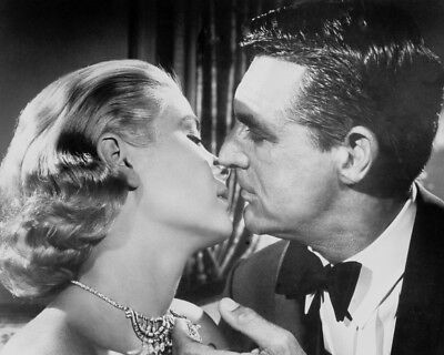 Grace Kelly Cary Grant To Catch A Thief Romantic About To Kiss 8x10 Photo