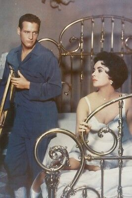 Elizabeth Taylor & Paul Newman Color 11x17 Mini Poster Cat on a Hot Tin Roof