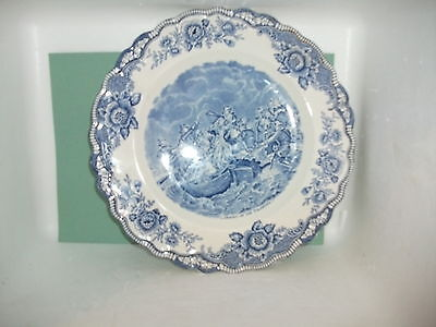 crown ducal colonial times plate (landing of the pilgrims)