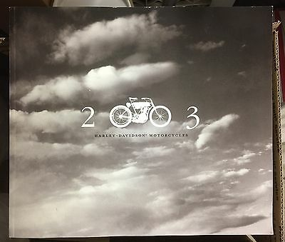 HARLEY-DAVIDSON 2003 100th Anniv. FULL LINE UP Large Dealer CATALOG Incl. V-ROD
