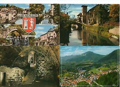 64 - Saint Jean Pied de port lot 280 cpm cartes postales modernes