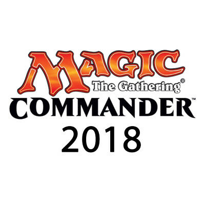 Commander 2018 Decks OVP Sealed MTG Magic the Gathering En