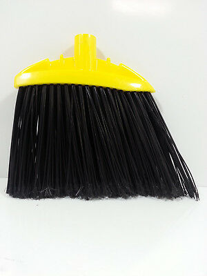 "Rubbermaid 6389-00 Angled Lobby Broom Replacement Head 506389-00 9-1/2"" Sweep"