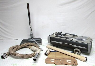 Electrolux Model 1505 Silverado Automatic Control Canister Vacuum Cleaner WORKS