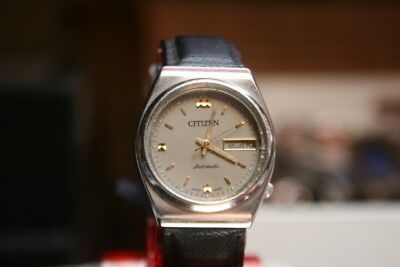 Citizen Automatic  1980er Vintage HAU mit neuem Band Japan