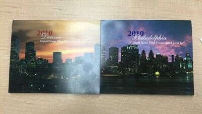2010 Denver United States Mint Uncirculated Coin Set