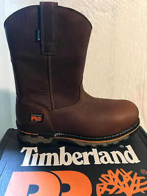 8c379d76762d Brand New Timberland Pro Men s Ag Boss Pull-On Alloy Safety Toe Waterproof  1054A