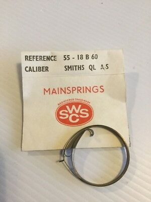Clock Mainspring Smiths QL AS Ref 55-18 B 60