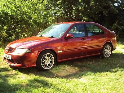 Mg Rover Zs + 54 Phase 2 Firefrost Red 1 Former Owner Warranted 83000 Long Mot