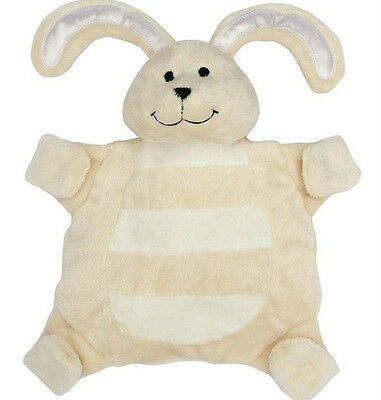 New baby sleepytot bunny, dummy holder comforter security blanket Large cream
