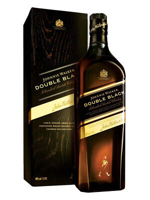 Johnnie Walker Double Black Scotch Whisky 1 Litre(Boxed)