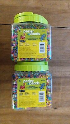 Perler beads and Pegboards