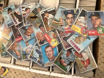 1960's Baseball Cards Lot! Thousands of Baseball Cards- 60's and 70's Vintage!