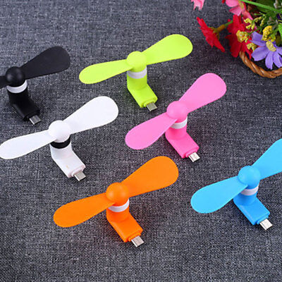 Mini Type-C USB Fan Mobile Phone Cooler For Samsung Galaxy S8 Huawei Mate10