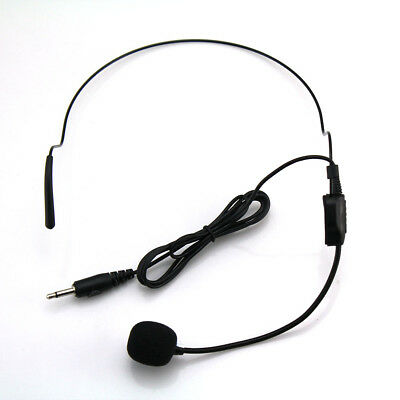 Voice Booster Voice Amplifier Headset Head Wear Microphone for Teaching lot