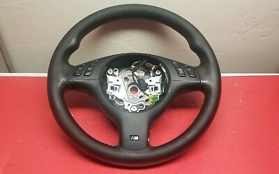 00-06 BMW X5 Sport Leather Steering Wheel with Controls E53 OEM
