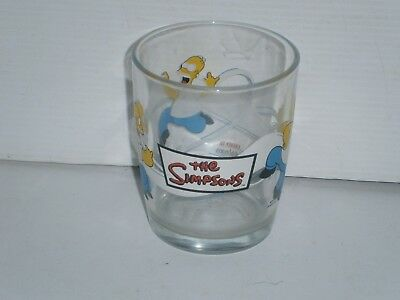 G110 Nutella The Simpsons Glass