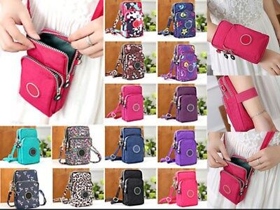 Mini  Mobile Phone Shoulder Bag Cross-body Pouch Case Belt Handbag Purse Wallet
