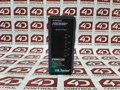 Foxboro FBM230 Channel Isolated 4 Communication - Used