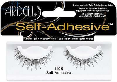 Ardell Self-Adhesive Eye Lashes, Black [110S] 1 ea ( Pack of 12)