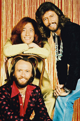 The Bee Gees  36X24 Poster Print Maurice Barry Robin