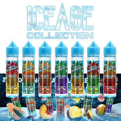 12 Twelve Monkeys Liquid Iced IceAge Collection Shake n Vape 50ml Nikotin 0/3 mg