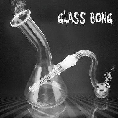 Hookah Water Glass Bong Smoking Pipes Shisha Tobacco Smoke Filter Decor Gift