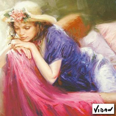 Vidan        Untitled #10     Afternoon Rest   Giclee on Paper