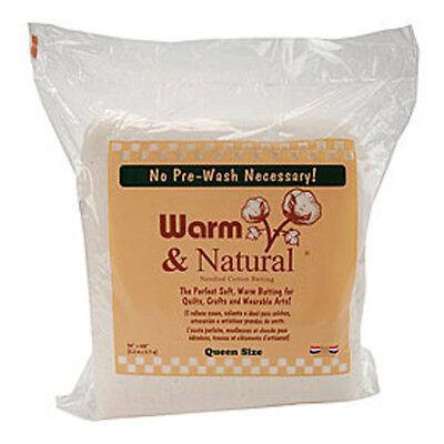 Warm and Natural Wadding Queen Size 90in x 108in   Birch 122341