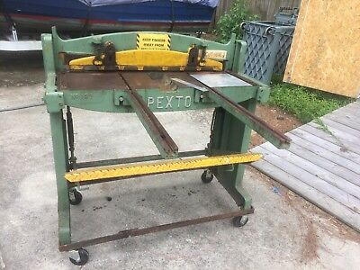 "36"" x 16 Ga Pexto Metal Foot Shear, Model 137 *** PRICE REDUCED ***"