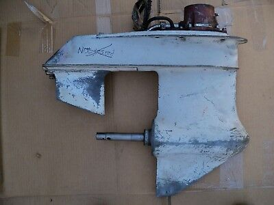 OMC electric shift lower unit for parts or rebuilt.