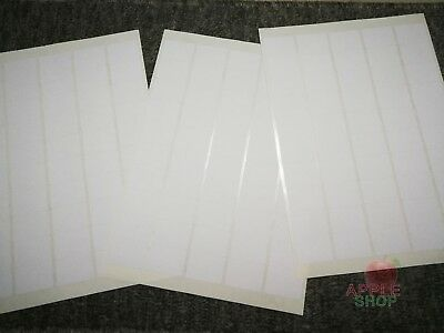3x50 Small White Sticky Labels 27x38 mm Price Stickers,Tags,Blank,Self Adhesive