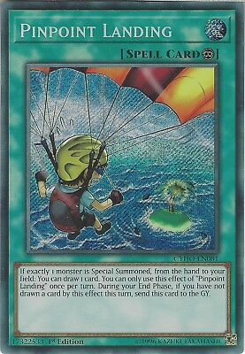 Yu-Gi-Oh: PINPOINT LANDING - CYHO-EN081 - Secret Rare Card - 1st Edition
