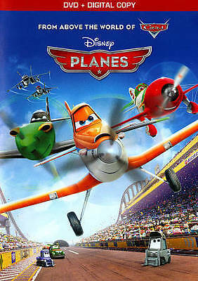 Planes (DVD, 2013) Very Good