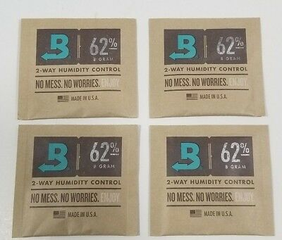 Boveda 62% 8 Gram 4 Pack Orignal Boveda Fast Shipping Fresh Medium