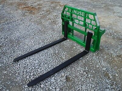 "John Deere Tractor Attachment - 60"" Pallet Forks 600 700 Series - Ship $199"