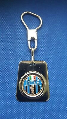 vintage KEYCHAIN key holder FOOTBALL FC INTER Internazionale Milan Italy
