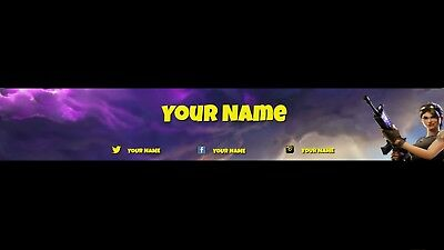 Youtube Channel Banner Fortnite Battle Royale 10 1 99