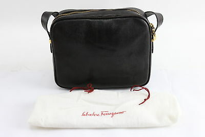 Salvatore Ferragamo D214641 Ladies Leather Cross Body Messenger Bag