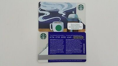 Mexico - Starbucks Card - Similar Braille 2017 But Without Dots - 6156