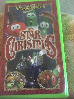 VEGGIETALES - THE Star of Christmas (VHS) & An All Dogs ...