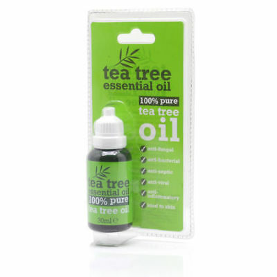 30 ml Bottle 100 % Pure Tea Tree Essential Oil Antiseptic Anti Fungal
