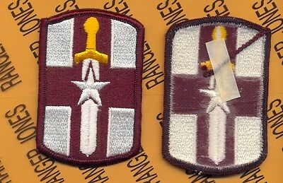 US Army 807th Medical Brigade Dress uniform patch m/e