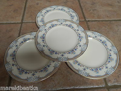 """Royal Doulton  4 Highland  Valley Salad, Luncheon 8"""" Plates"""