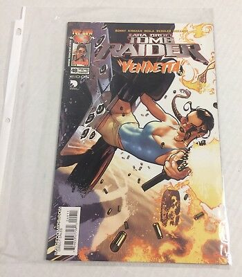 Top Cow Comics Lara Croft Tomb Raider Vendetta Vol. 1 Issue 49 Feb. 2005 Nice