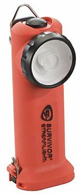 Streamlight 90509 Survivor Led Recargable Linterna con Dc Cargador, Naranja