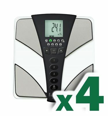 Lot of 4 Tanita BC-585 F FitScan Full Body Composition Monitor